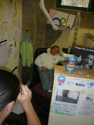 11) Obama headquarters; pe..