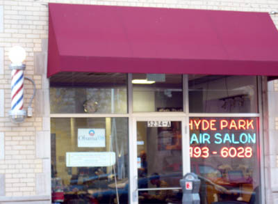 5) Obama's barbershop Hyde..