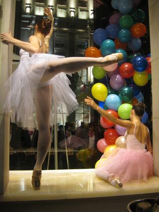 Ballerinas window