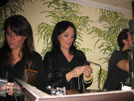 Kelly DJing