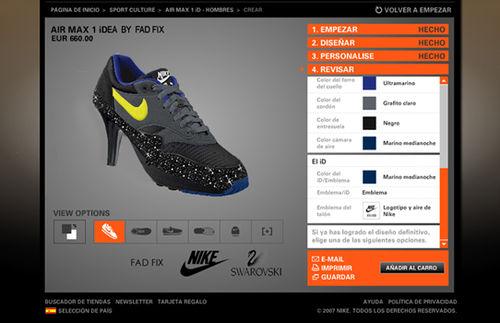 Nike fad fix swarovski