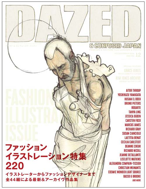 Dazed cover Aitor