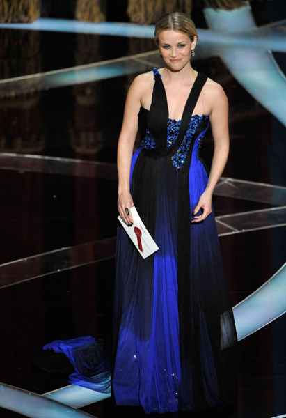Reese Witherspoon and Natalie Portman wear Rodarte for the 81st academy