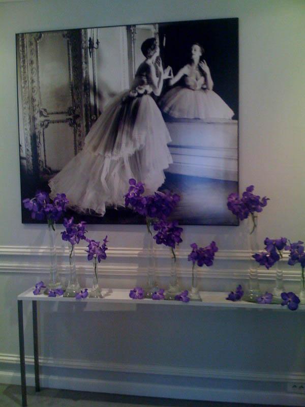Inside Dior showroom