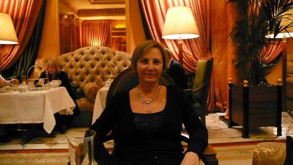 Andreina at the Dorchester
