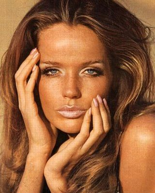 Veruschka+sixties+makeup