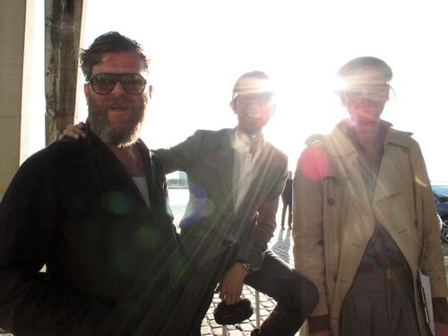 Mark Eley, Imran and Henrik