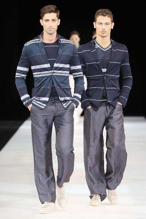 Armani stripes