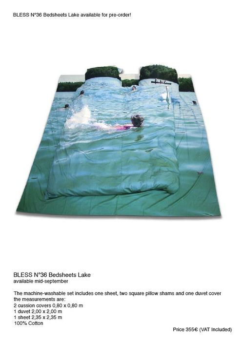Bless N. 36 bedsheets lake