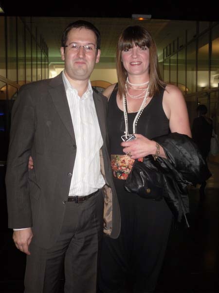 Christophe and rebecca