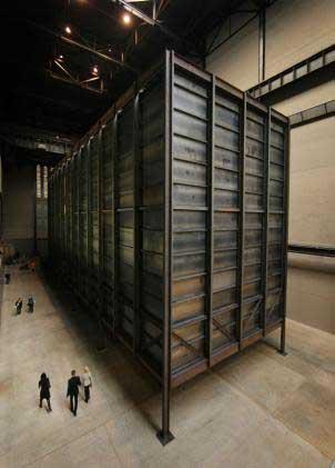 Miroslaw Balka, How it is, 2009, Tate Modern, Photo Peter Macdiarmid