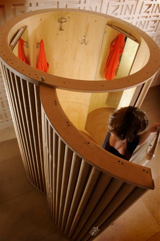 CARDBOARD TUBE ROOMS