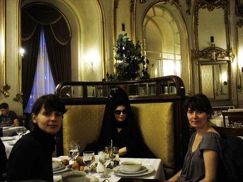 NAnca Mihulet, Diane Pernet and Olivia Mihaltianu @ Casa Armatei, Bucharest Calling copy