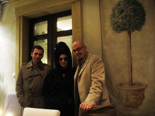 NOvidiu Buta, Diane Pernet and Joaquin Bonilla, Bucharest Calling copy