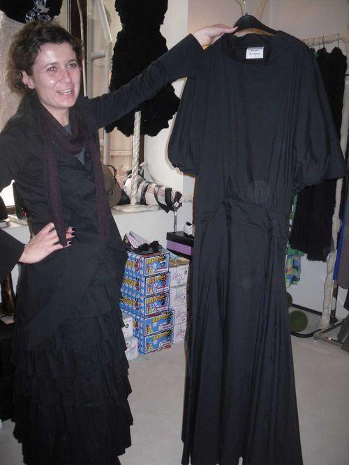 Silvia and dress
