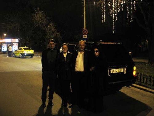 NDragos Olea, Cristina Batlan, Roberto Batlan and Diane Pernet, Bucharest Calling copy