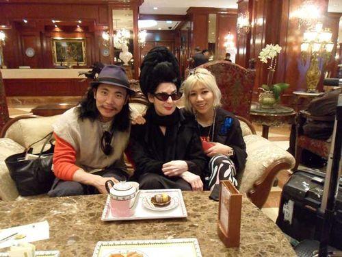 Tea with steve & yoni