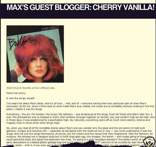 Cherry on max