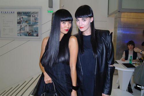 Lisa and Hannah