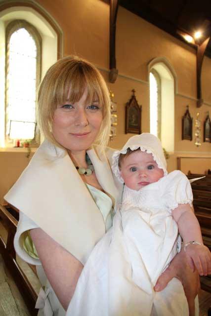 Roisin Murphy and baby