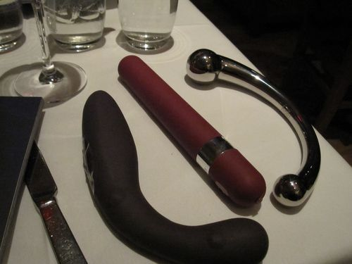 Swag consisted of Swedish sex toys which, as you can imagine, ...