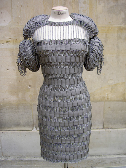 SB016 Metal Crochet Dress