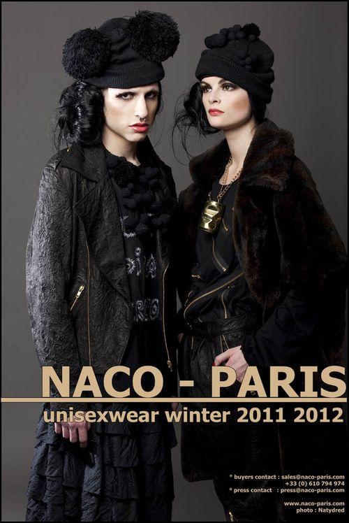 Naco-Paris winter 2011 2012- teaser contacts