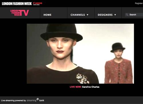 LFW live streaming