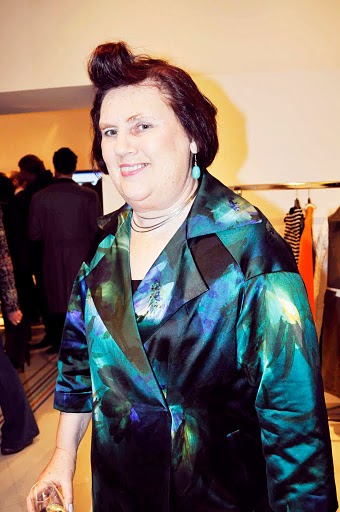 suzy menkes hair. Suzy Menkes great smile!