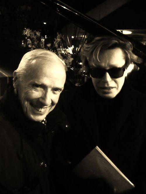 Bill C and Marc Audibet 2011 Paris 032