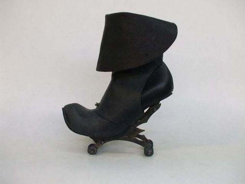 Blk short boot