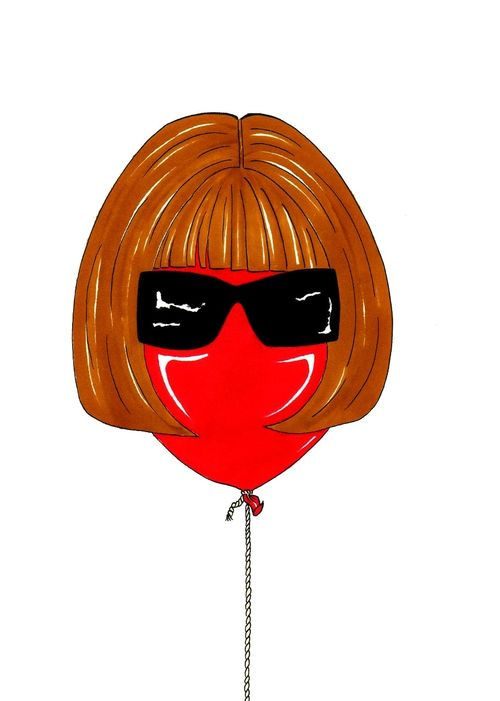 Anna Wintour Baloon Humor Chic by a(6)