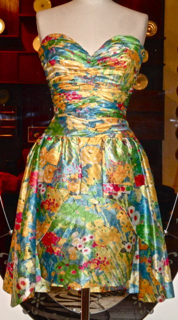 AZZARO printed silk dress