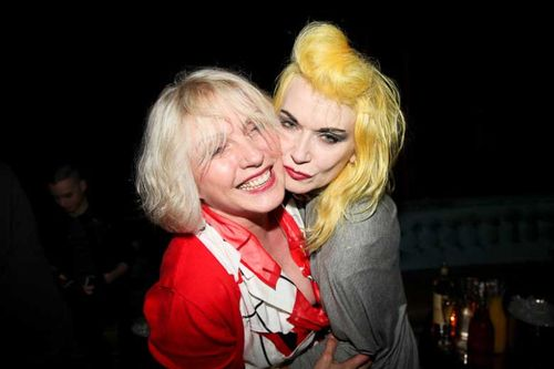 Debbie harry and Pam