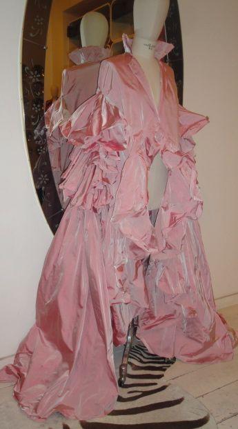 YSL silk cape 2