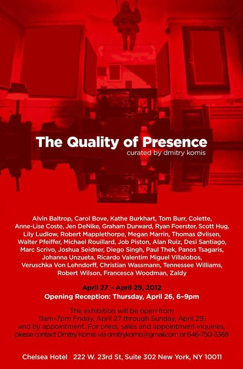 The Quality of Presence _ invite
