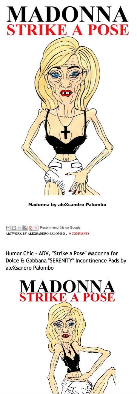 Madonna by aleXsandro Palombo