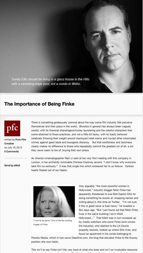 Pure Film Creative on Finke