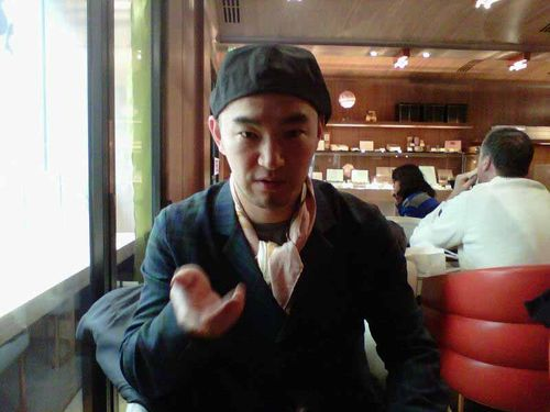 Shoji at Toraya