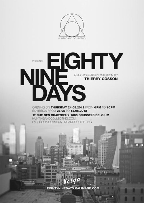 ThierryCosson_EightyNineDays_Exhibition