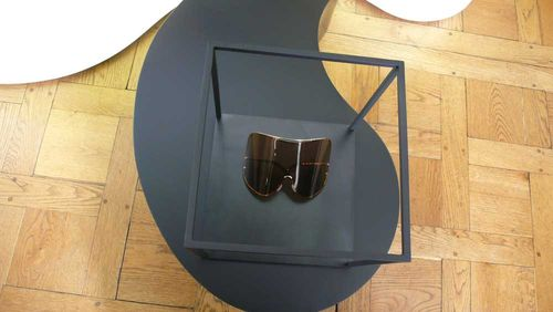 Givenchy shield glasses