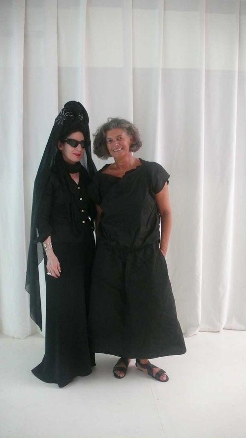 Manuela and I