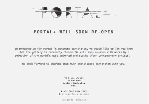 Portal notice