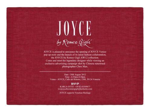 Joyce by romeo gigli