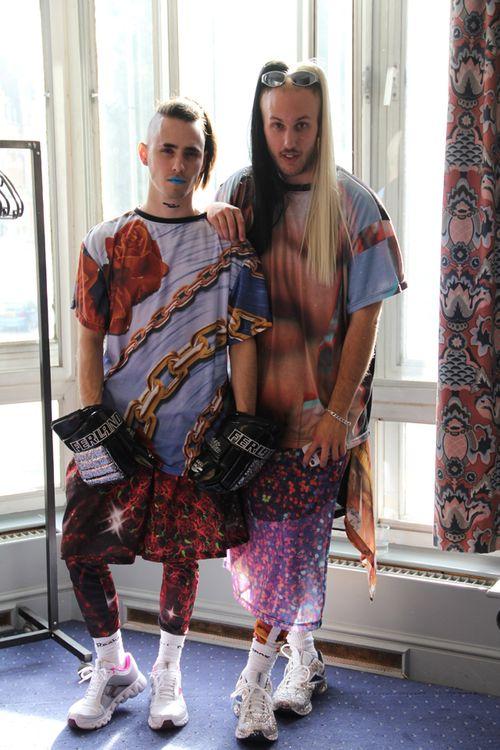 Roberto Piqueras London Fashion Week LFW Coco Capitan asvof Diane Pernet FadFix (1)