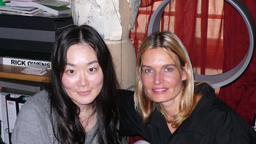 Akiko and luisa