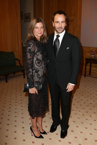 Natalie Massenet and Tom FOrd by Darren Gerrish