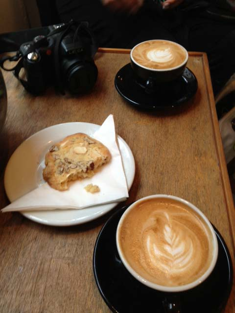 Cookies and cafe at Tuck Shop