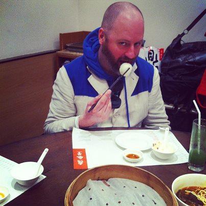 Noel Stewart in Shanghai