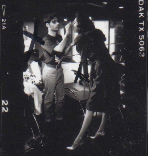 James Kaliardos backstage 88